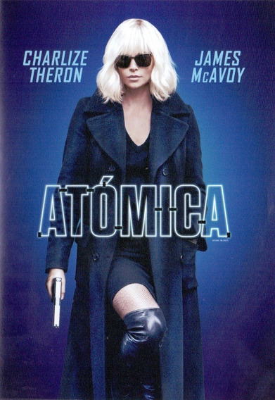 Atomica Charlize Theron James Mcavoy Pelicula Dvd