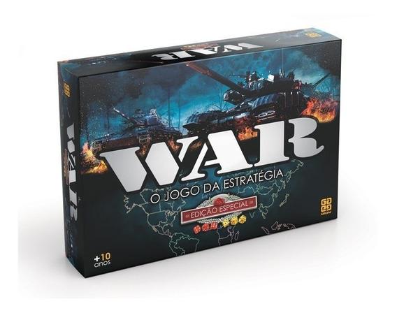 Jogo De Tabuleiro War Edição Especial - Grow