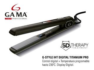 Planchita P/ Cabello Gama G-style Titanium Pro Digital