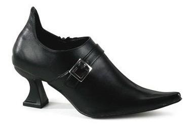Zapatos Botines Victorianos De Bruja Negros Para Damas 1
