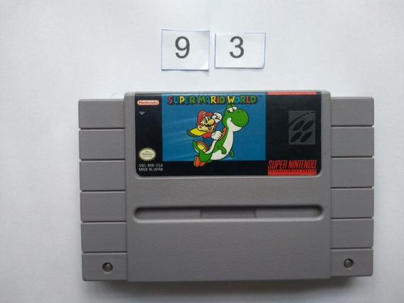 Super Mario World Original Snes - Super Nintendo