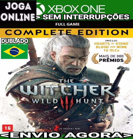 The Witcher 3 Complete Ed. Xbox One Online Digital Original