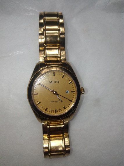 Reloj Para Dama Mido Original Casi Nuevo Cristal De Zafiro