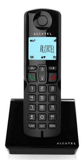 Teléfonos Inalámbricos S250 Negro Manos Libres Alcatel