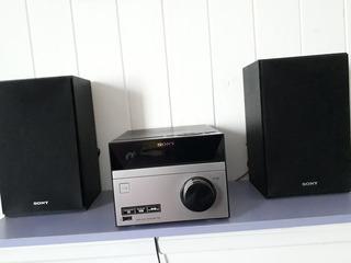 Equipo De Musica Sony Cmt-s20 (impecable)( Cuotas S/interes)