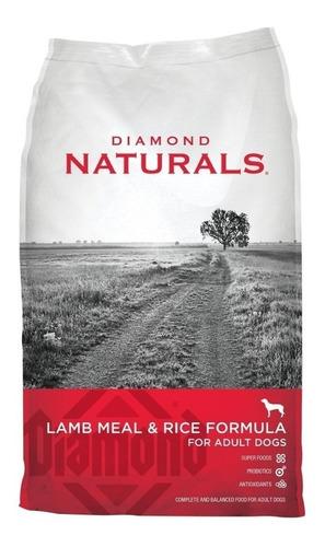 Imagen 1 de 1 de Alimento Diamond Naturals Adult Dog para perro adulto todos los tamaños sabor cordero/arroz en bolsa de 18.14kg