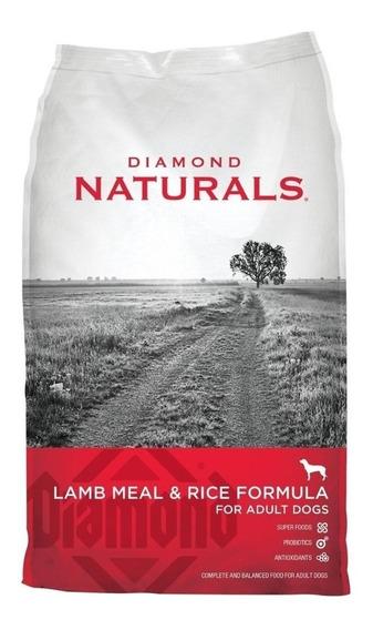 Alimento Diamond Naturals Adult Dog perro adulto cordero/arroz 18.14kg