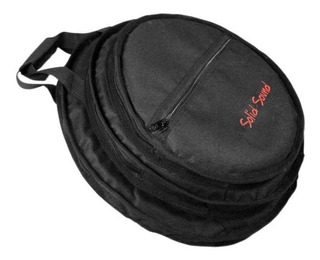 Bag Case De Prato Bateria Triplo Solid Sound Alça E Mochila