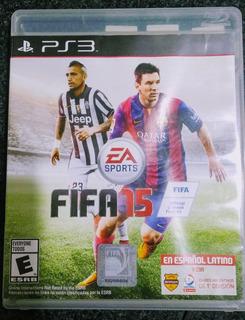 Fifa 15 Juego Original Fisico Para Ps3 En Español