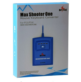 Max Shooter One Teclado Mouse Ps4 Xbox 360 Ps3 Xbox One