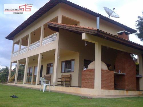Imagem 1 de 8 de Chácara Com 4 Dormitórios À Venda, 6900 M² Por R$ 880.000,00 - Maracanã - Jarinu/sp - Ch0002