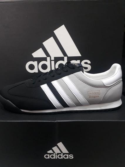 Zapatillas Adidas Dragon Negras Tenis Adidas para Hombre