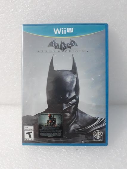 Batman Arkham Origins Wii U Mídia Física Novo E Lacrado