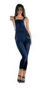 Jumper Overol Peto Mezclilla Skinny Moda Mexicana
