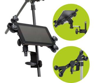Soporte De iPad Tablet Celular Para Pie Microfono Sip105