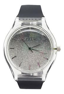 Reloj Sweet Mujer Praga Black 100m Sumergible Agente Oficial