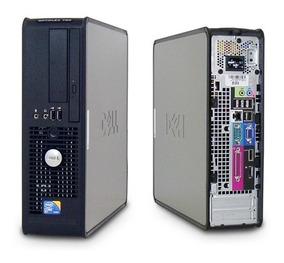 02 Pçs Mini Pc Cpu Dell 780 Core 2 Duo 3.0ghz Hd 160gb 4gb