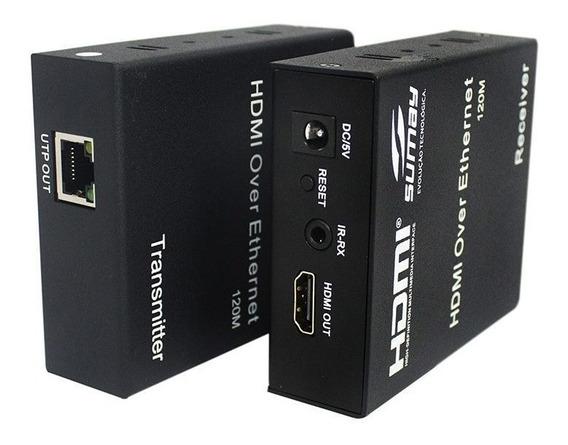 Extensor Hdmi Sumay Sm-ex120 120mt 3d 4k Hispeed