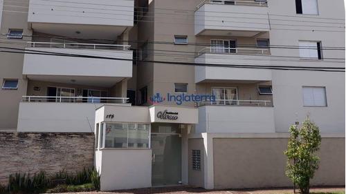 Apartamento À Venda, 74 M² Por R$ 235.000,00 - Igapó - Londrina/pr - Ap0483