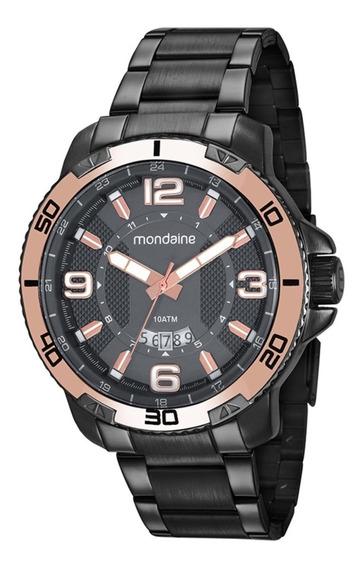 Relógio Masculino Mondaine 53679gpmvss2 50mm Aço Grafite