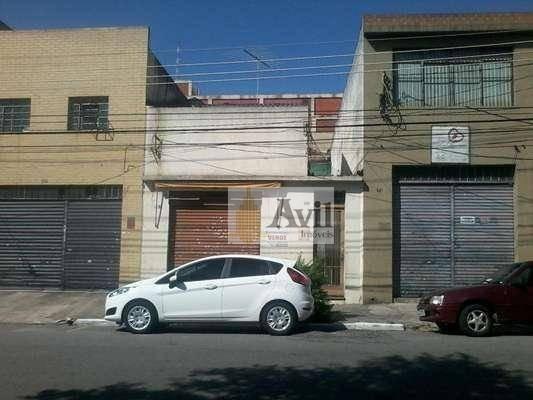 Casa À Venda, 238 M² Por R$ 1.200.000 - Brás - São Paulo/sp - Ca0086