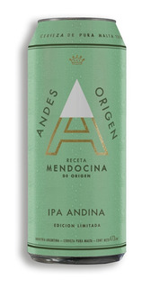 Cerveza Andes Origen Ipa Lata 473ml - Agp Distribuidora