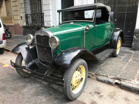 Ford A Roadster 1932 Con Papeles! Patentado! En Marcha!