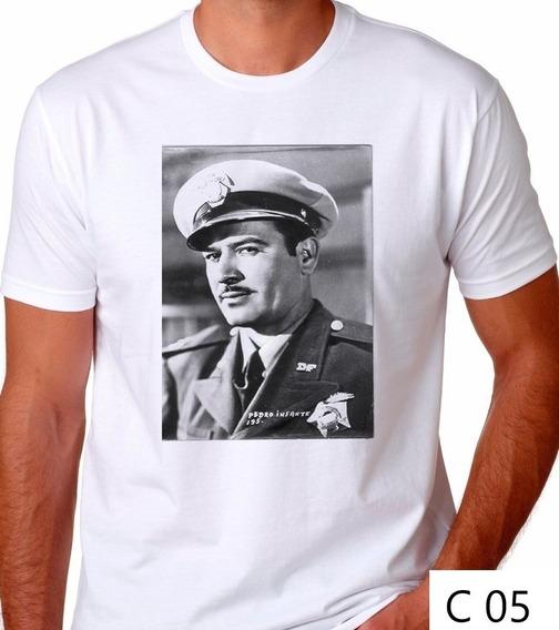 Playera Pedro Infante Policía A Toda Maquina Cine Camiseta