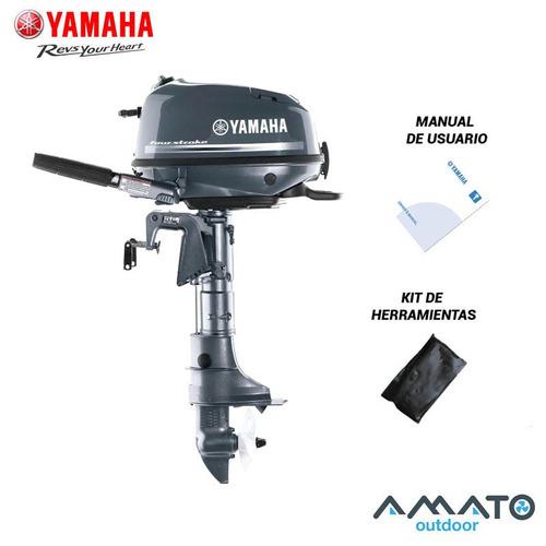 Motor Fuera De Borda Yamaha 4 Hp 4t Pata Corta