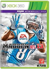 Madden 13 Nfl Xbox 360 Original Frete R$12