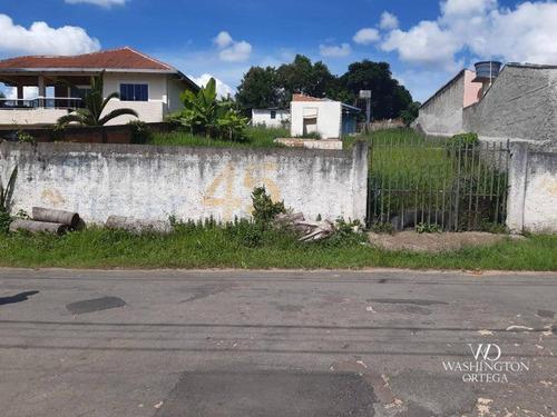 Terreno À Venda, 468 M² Por R$ 190.000,00 - Guatupê - São José Dos Pinhais/pr - Te0240