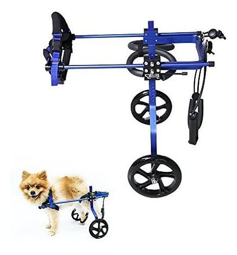 Imagen 1 de 7 de Silla De Ruedas Para Perros, Para Discapacitados,mascotas,