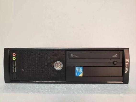Desktop Itautec St4271 Core I5 650 + 500gb + 4gb + Placa Vid