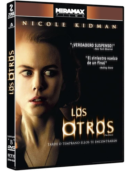 Los Otros Nicole Kidman Película Dvd (nuevo)