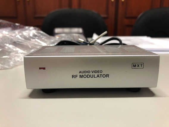 Modulador Conversor Rca Audio Video Para Rf - Original Mxt