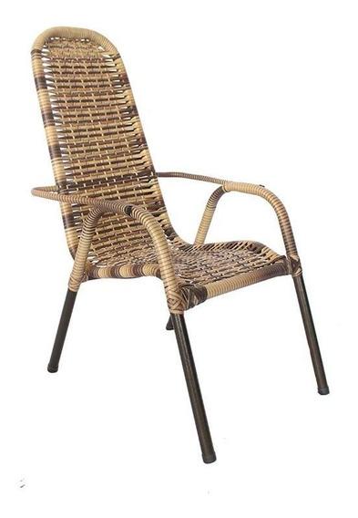 Cadeira Decoração Área Varanda Piscina Churrasqueira