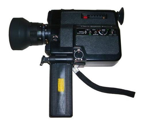 Câmera Super 8 Com Som Canon Canosound 514xl-s Manual Bolsa