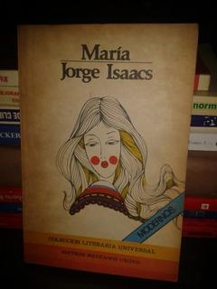 Libro Novela Maria De Jorge Isaacs