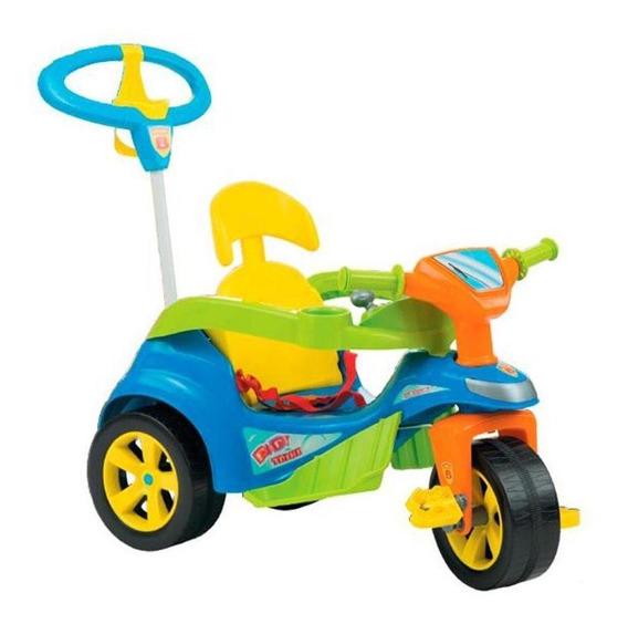 Triciclo Biemme Baby Trike Evolution Azul