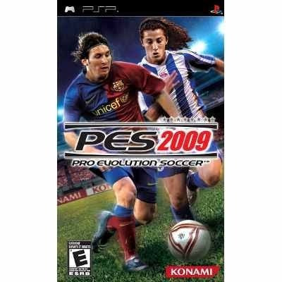 Pro Evolution Soccer 2009 (pes 09) - Psp - Usado
