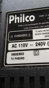 Pé De Apoio Tv Ph32m3 Lcd Philco