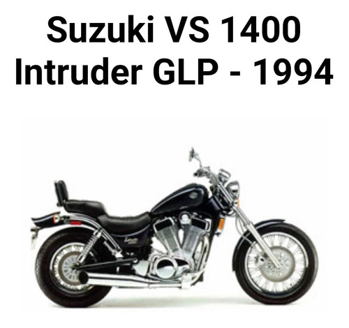 Imagem 1 de 11 de Sucata/suzuki Glp Vs 1400 Glp
