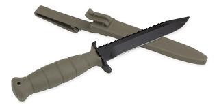 Cuchillo Glock Fm 81 Original Aserrado Austria Funda Rígida