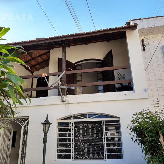 Centro São Vicente Sobrado 3 Suítes, Sala 2 Amb, Varanda, 3 Vgs - V398439