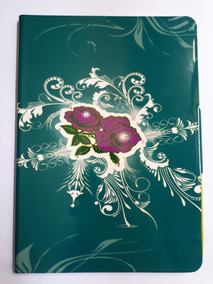 Capa Para iPad 5 Da Apple Green Rose