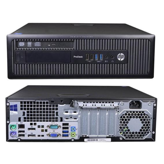Desktop Hp Elitedesk 600 G1 4gb Hd 500 Intel Core I5 Completo Em Até 12x Sem Juros Garantia E Nota Fiscal