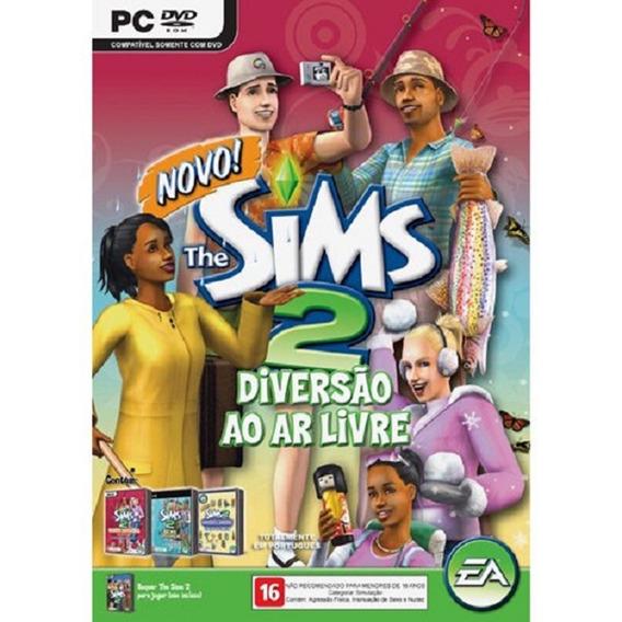 Game Pc The Sims 2 Diversão Ao Ar Livre Original E Lacrado