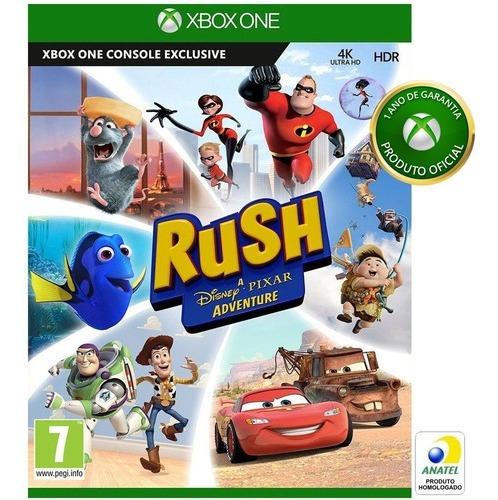 Jogo Rush Xbox One + 2 Jogos Brinde Mídia Física Lacrado
