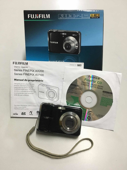 Câmera Digital Fujifilm Finepix Av100 12 Megapixels Defeito