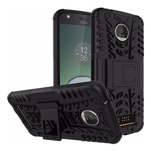 Forro Armadura  Motorola Moto Z Play Protector Defender Case